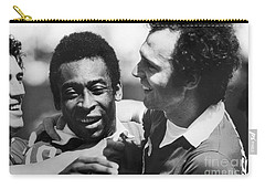 Pele & Beckenbauer, C1977 Carry-all Pouch by Granger