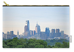 Philly Skyline Carry-all Pouch by Bill Cannon