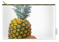 Pineapple And Kiwis Carry-all Pouch by Carlos Caetano