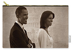 President Obama And First Lady S Carry-all Pouch by David Dehner