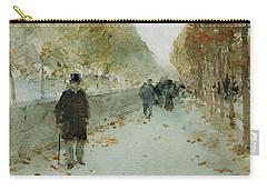 Quai Du Louvre Carry-all Pouch by Childe Hassam