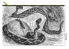 Rattlesnakes Carry-all Pouch by Granger