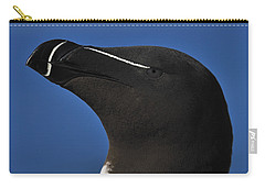 Razorbill Portrait Carry-all Pouch by Tony Beck