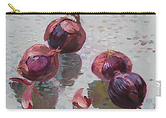 Red Onions Carry-all Pouch by Ylli Haruni