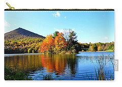 Sharp Top Mountain Carry-all Pouch by Todd Hostetter