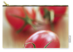 Small Tomatoes Carry-all Pouch by Elena Elisseeva