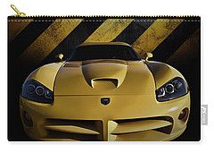 Snake Crossing Carry-all Pouch by Douglas Pittman