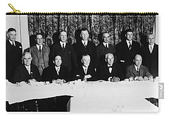 Sports Luncheon, 1930 Carry-all Pouch by Granger