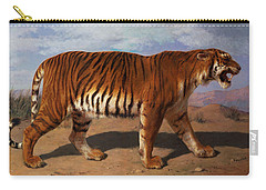 Stalking Tiger Carry-all Pouch by Rosa Bonheur