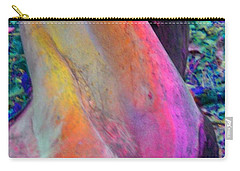 Carry-all Pouch featuring the digital art Stretch by Richard Laeton