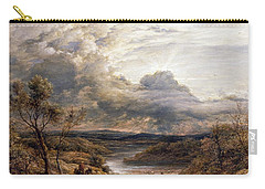 Sun Behind Clouds Carry-all Pouch by John Linnell