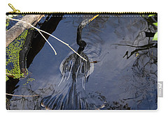 Swimming Bird Carry-all Pouch by David Lee Thompson