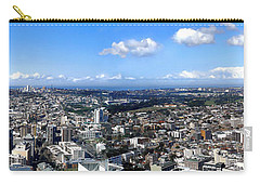 Sydney - Aerial View Panorama Carry-all Pouch by Kaye Menner