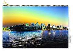 Sydney In Color Carry-all Pouch by Douglas Barnard