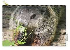 Taking Time To Smell The Flowers Carry-all Pouch by Doris Potter