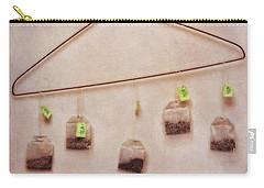 Tea Bags Carry-all Pouch by Priska Wettstein