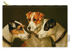 The Hounds Carry-all Pouch by Alfred Wheeler