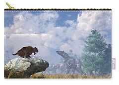 The Paraceratherium Migration Carry-all Pouch by Daniel Eskridge