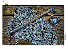 The Warriors Mace Carry-all Pouch by Paul Ward