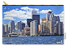 Toronto Waterfront Carry-all Pouch by Elena Elisseeva