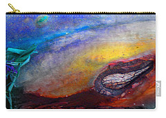 Carry-all Pouch featuring the digital art Travel by Richard Laeton