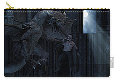 Under The Moonlight Carry-all Pouch by Lourry Legarde