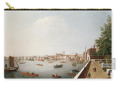 View Of The River Thames From The Adelphi Terrace  Carry-all Pouch by William James