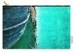 Vintage Ship Carry-all Pouch by Jill Battaglia