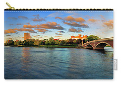 Weeks' Bridge Panorama Carry-all Pouch by Rick Berk