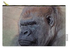 Western Lowland Gorilla Carry-all Pouch by Betty LaRue