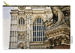 Westminster Abbey Carry-all Pouch by Elena Elisseeva