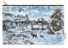 Winter Wonderland Carry-all Pouch by Lourry Legarde