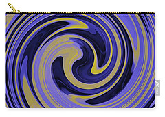 You Are Like A Hurricane Carry-all Pouch by Bill Cannon