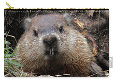 You Would Have A Dirty Face Too If You Lived Underground Carry-all Pouch by Doris Potter