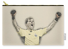 Iker Casillas  Carry-all Pouch by Don Kuing