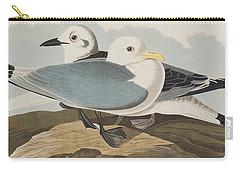 Kittiwake Gull Carry-all Pouch by John James Audubon