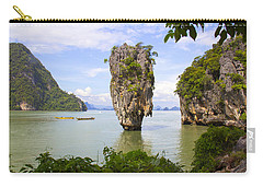 007 Island   2 Carry-all Pouch by Mark Ashkenazi