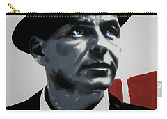 - Sinatra - Carry-all Pouch by Luis Ludzska