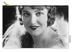 Actress Agnes Ayres Carry-all Pouch by Underwood Archives