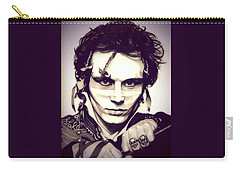 Adam Ant Carry-all Pouch by Fred Larucci