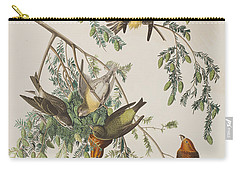 American Crossbill Carry-all Pouch by John James Audubon