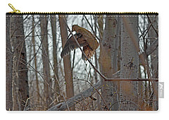 American Woodcock Behavior Carry-all Pouch by Asbed Iskedjian