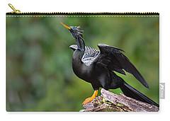 Anhinga Anhinga Anhinga Perching Carry-all Pouch by Panoramic Images