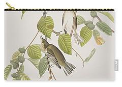 Autumnal Warbler Carry-all Pouch by John James Audubon