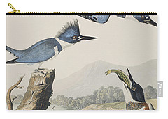 Belted Kingfisher Carry-all Pouch by John James Audubon