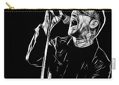 Bono U2 Collection Carry-all Pouch by Marvin Blaine