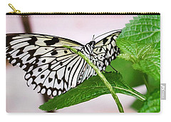 Paper Kite Butterfly No. 1 Carry-all Pouch by Sandy Taylor