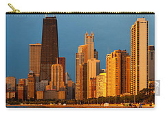 Chicago Skyline Carry-all Pouch by Sebastian Musial
