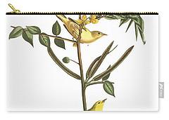 Children's Warbler Carry-all Pouch by John James Audubon