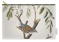Chipping Sparrow Carry-all Pouch by John James Audubon